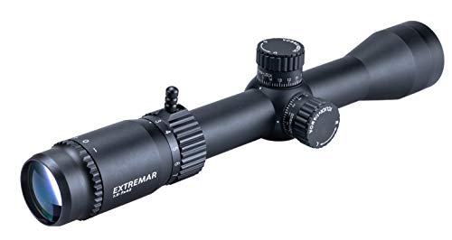 Viiko Long Eye Relief Scope 1.5-7x42 Half Mildot Reticle 7.8' Eye Relief Fits Mosin 1891/30 M39 M44 Huge Eye Box Switch Viewer
