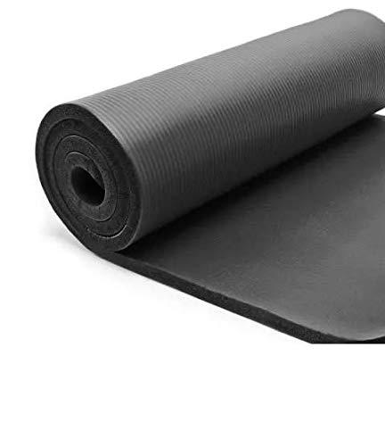 Colchoneta / Yoga / Pilates / Deporte / Gimnasia / Fitness / Musculación - 12 mm, 189cmx62cm- con correa y bolsa de transporte - Atención colchonetas nuevas pero dañadas durante el transporte.