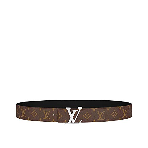 Louis Vuitton Monogram Canvas LV Initiales 40mm Reversible Belt (90 cm)