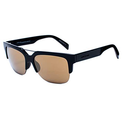 italia independent 0918-009-GLS Gafas de sol, Negro, 53 para Hombre