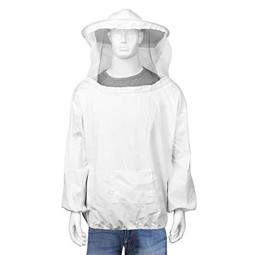 LHKJ Imkeranzug mit Zaunschleier, Imkerjacke mit Schleier, Imkeranzug für Professionelle Bienenbisse Verhindern
