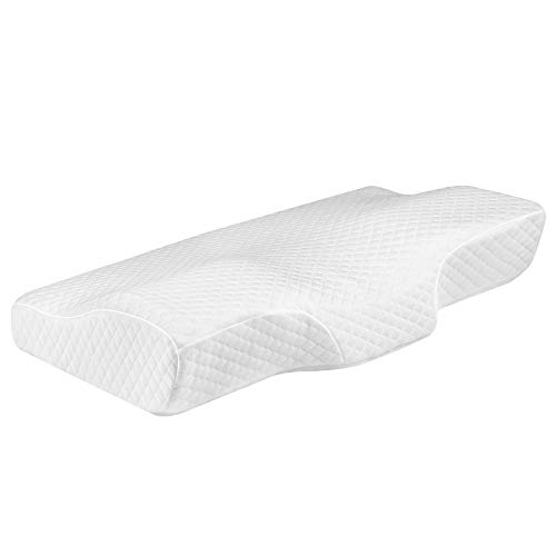 Milemont Memory Foam Cervical Pillow for Orthopedic Sleeping Neck Pain, Ideal for Side Sleepers, Back and Stomach Sleepers