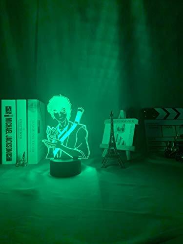 Luces led San Valentín 2020 Avatar Last Airbender Zuko Luz de decoración del hogar Regalo de cumpleaños Luz de noche Led Avatar Decoración de dormitorio Luz Luz de dibujos animados DUYAO00