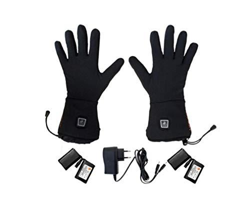 Alpenheat Unisex Handschuhe Fire-Gloveliner Heated glove liner, Schwarz, XXL, AG1-XXL