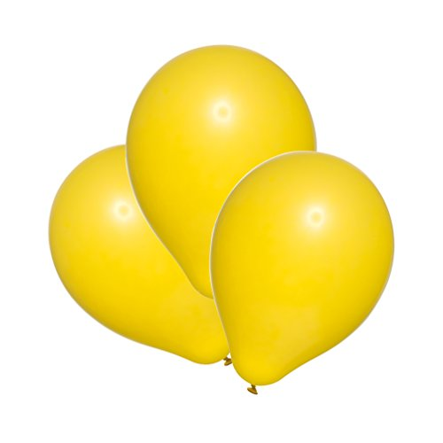 Susy Card 40011400 - Luftballons, 100er Packung, gelb