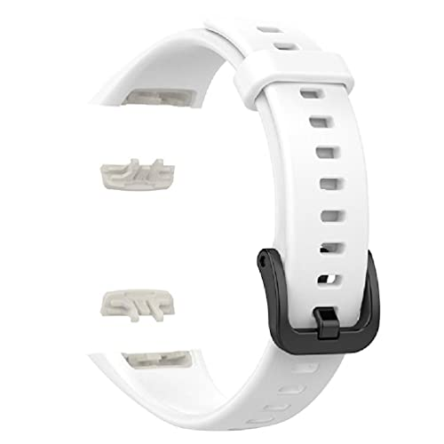 Correa de silicona de repuesto para reloj de pulsera de honor 6, reloj inteligente para hombre, correa de silicona para mujer, correa de silicona de silicona para reloj Samsung