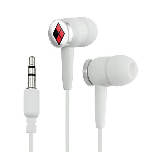 Harley Quinn Logo in-Ear Headphones