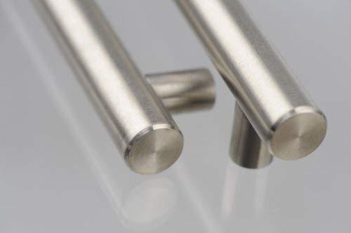 SO-TECH® Möbelgriff Stangengriff Griff Edelstahl 128 mm Ø 19 mm