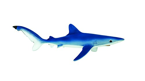 Safari Ltd Monterey Bay Aquarium Sea Life  Blue Shark  Realistic Hand Painted Toy Figurine Model  Quality Construction from Safe and BPA Free Materials  For Ages 3 and Up