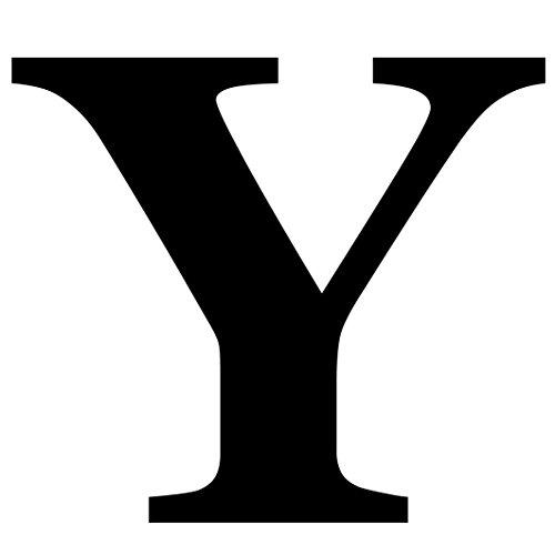 Oedim Letra Y PVC 5mm de Color Blanco para Decorar en Boda/Fiesta   11 cm de Altura x 8 cm de Ancho y 5 mm de Grosor   Letras Fabricadas en PVC Color Blanco   Letras de PVC Elegantes y Origina