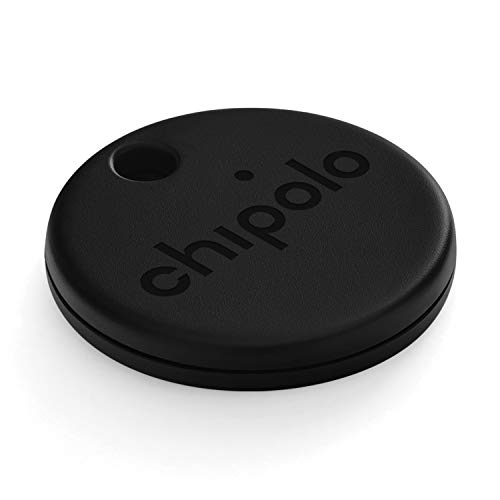 Chipolo ONE (2020) - Loudest Water Resistant Bluetooth Key Finder (Black)
