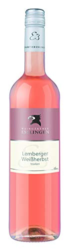 Württemberger Wein Esslinger Weinsteige Lemberger Weißherbst QW trocken (1 x 0.75 l)