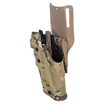 ECOTRIC Tactical Holster Low Carry Automatic Locking System Compatible with Glock 19 / 23 Left Hand Color Camouflage