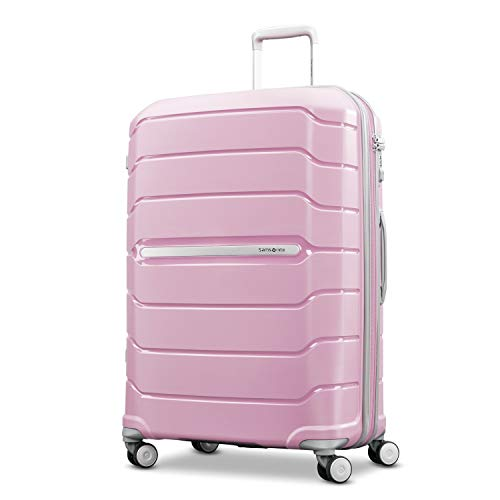 Samsonite Freeform Expandable Hardside Luggage with Double Spinner Wheels, Pink Rose