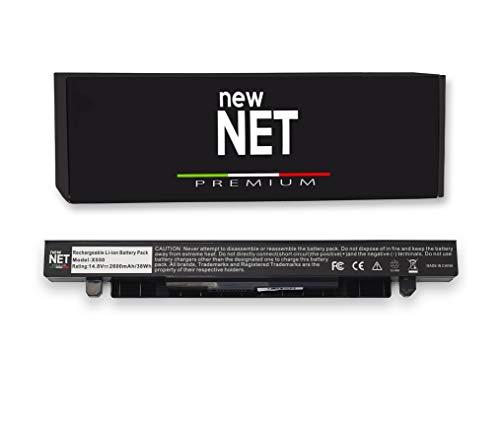 New Net Premium X550 Batería de repuesto compatible con Asus A550 A550C A550C A550C A550L A550L A550L A550L A550Lb A550L A550 A5 A550V A550V A50V [celdas Alta calidad]