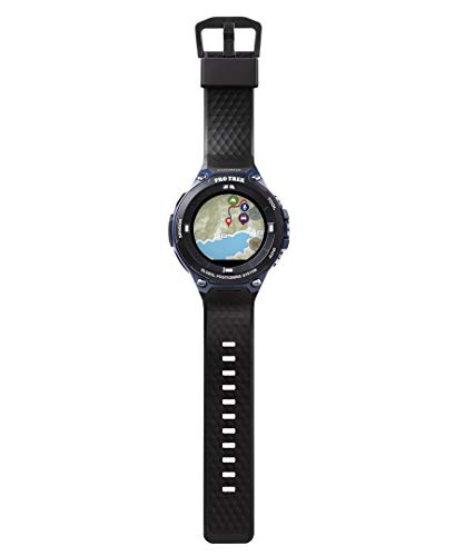Casio Men's viewranger PRO Trek Smart Quartz Sport Watch with Resin Strap, Black, 25.2 (Model: WSD-F20A-BVR)