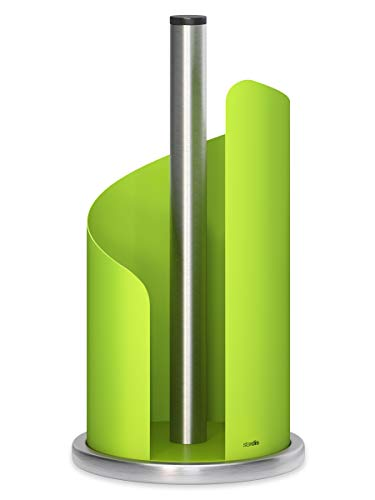 stardis Küchenrollenhalter Edelstahl, grün matt Rollenhalter für Küchenrolle