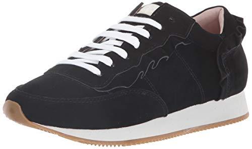 Kate Spade New York Women's FARIAH Sneaker, Black Suede, 11 M US