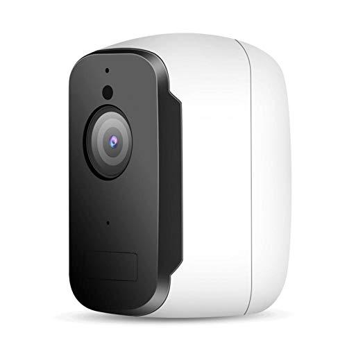 Tomanbery Cámara IP de Red WiFi Control Remoto Protección Las 24 Horas Cámara de vigilancia Exterior en Tiempo Real Interior para Interior Sistema de monitoreo Exterior