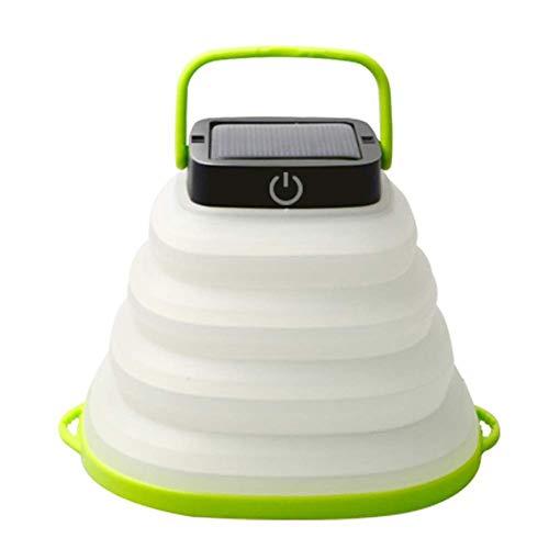 BANANAJOY Portátiles Solar LED Linterna Camping Luces con batería Recargable, IP68 a Prueba de Agua, Linterna Plegable for al Aire Libre Senderismo Carpa Jardín, Emergencias Y Más