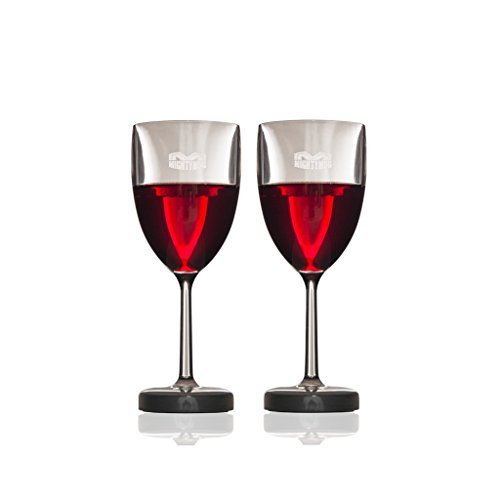 Mighty Mug Wine Glasses Relaxing Barware, Clear