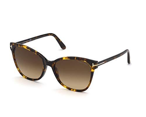 Tom Ford ANI (TF-844 52F) Havana - Gafas de sol, color marrón degradado