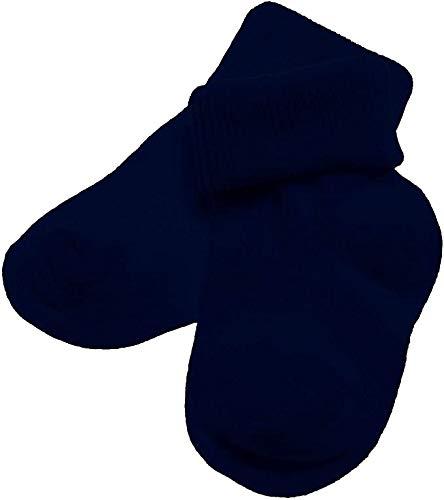 PETTI Artigiani Italiani - Calcetín de bebé de verano, 6 pares de calcetines de bebé de algodón hilo de Escocia, 100% fabricado en Italia, calcetines para bebé. turquesa 0 meses