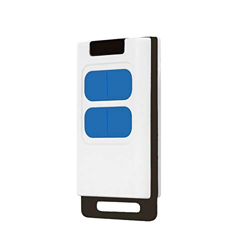 433MHZ Control remoto universal para abridor de puerta de garaje, abridor de puerta remoto programable Cubierta deslizante de puerta enrollable de 4 botones Control remoto doble