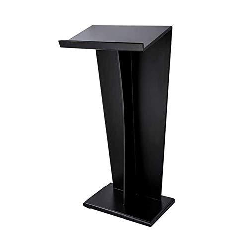 NBVCX Lebensdekoration Rednerpult Holz Rednerpult Podium Tischplatte Hosting Empfang Schreibtisch Präsentation Podium Podien (Farbe: Weiß Größe