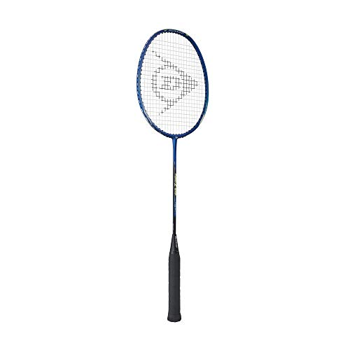Dunlop Sports Fusion Z3000 Badminton Racket, Blue/Grey