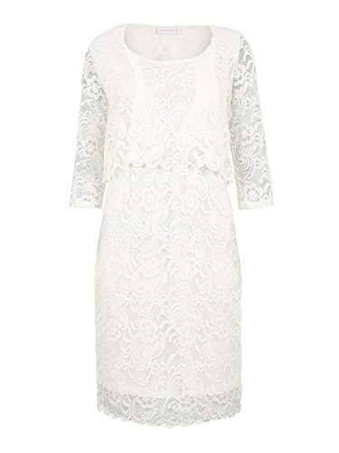 MAMALICIOUS Mama Licious Damen Still-Kleid Spitzen SSnow White