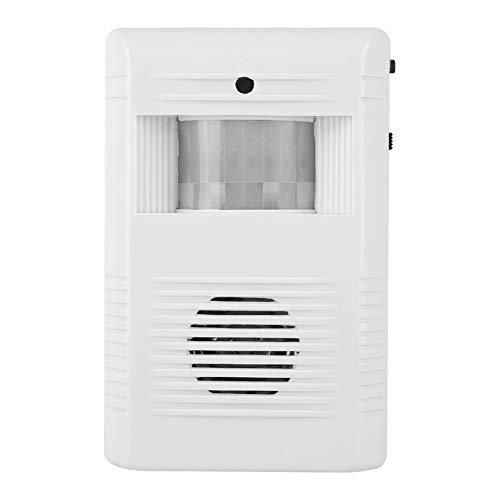 Welcome Door Bell, 16 Music Ir Motion Entry Alarm 85 ± 5db Alta sensibilidad, soporte giratorio, alto decibelio para tiendas, almacenes, edificios de oficinas, fábricas, hogares