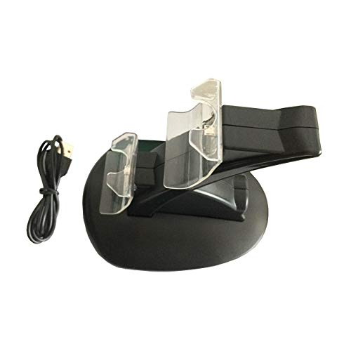 OSTENT Adaptador de estación de acoplamiento Dual Charger compatible con el controlador inalámbrico Microsoft Xbox One