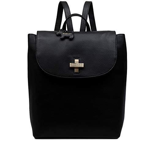 Radley 'Buxton lane' leather backpack black