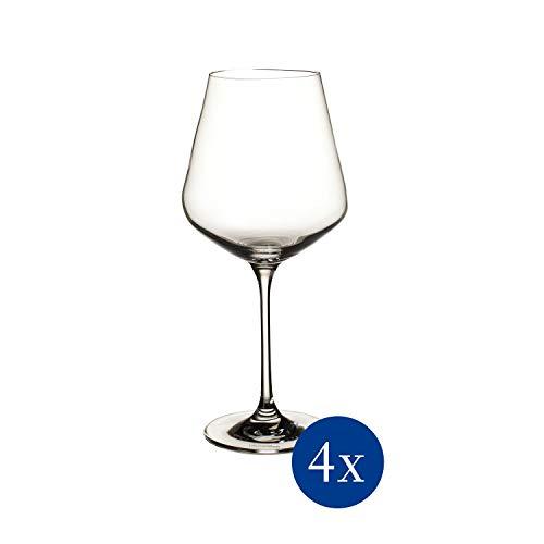 Villeroy & Boch La Divina Rotweinkelch, Set 4tlg. Glasset, Glas, 4-teilig, 4