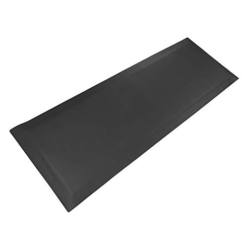 """OMECAL 24""""x 70""""-1/2"""" Thick Medical Bedside Fall Safety Protection Floor Mat for Elderly,Senior,Handicapped,Reducing Injury Risk and Impact, Anti Fatigue, Non-Slip, Beveled Edge"""
