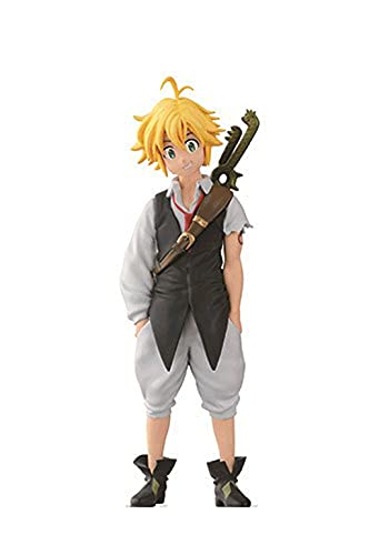Koki The Seven Deadly Sins : Meliodas (Ichibansho Ver.) 14cm PVC Figure Anime Collection Multicolor