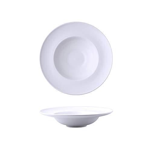 XIANGHUI Plato para Pasta,Plato de Pasta de Cerámica Vajilla de Cerámica Nórdica-5 Colores