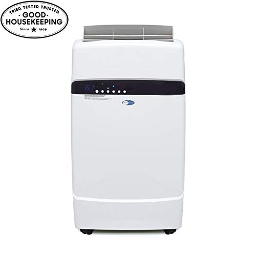 Whynter ARC-12SD 12,000 BTU Dual Hose Portable Air Conditioner, Dehumidifier, Fan with Activated Carbon Filter plus Storage bag for Rooms up to 400 sq ft,Multi