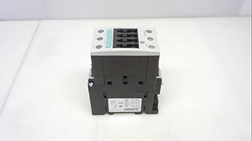 Siemens 3RT1035-1BB40 CONTACTOR, AC-3 18.5 KW/400 V, DC 24 V, 3-Pole, Size S2, Screw Connection, White
