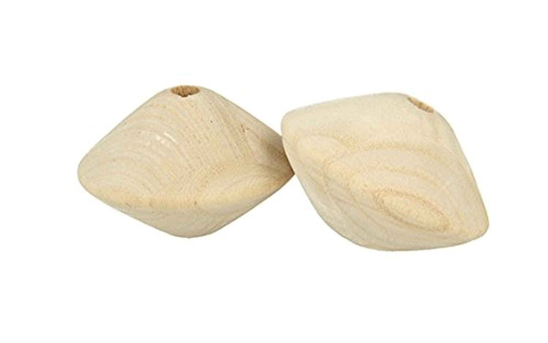 Artemio 2?63x42?mm Wood Spinning Top Beads 8?mm