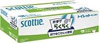 日本製紙クレシア スコッティ 片手でらくらくトイレットペーパー300枚(100組)×20入セット 29100