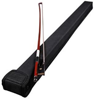 Vio Music Bass Bow Case for One French or One German Bass Bow, With Shoulder Strap