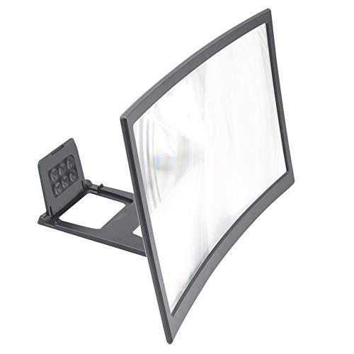 HEMOBLLO Mini Handheld Fan Mini USB Rechargeable 360 Degree Flexible Fan with LED Light and Clip White