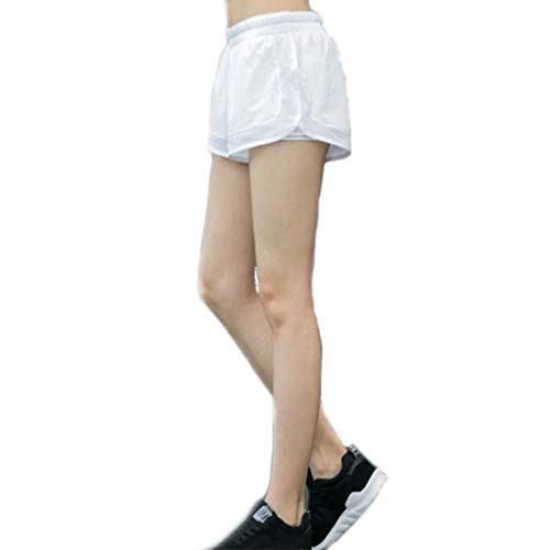 Met Love Pantalones Cortos de Yoga de Verano Pantalones de Gimnasia Femenina Pantalones Cortos de Gimnasia Pantalones Deportivos for Correr al Aire Libre Pantalones de Secado rápido Era Delgado