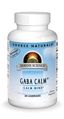 Source Naturals Serene Science, GABA Calm - Supports A Calming Mood,...