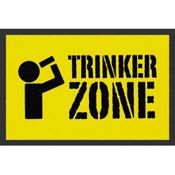 Fußmatte 'Trinker Zone'