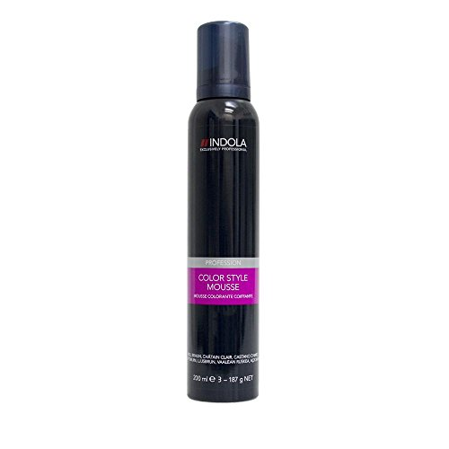 Indola Color Style Mousse silber 200 ml
