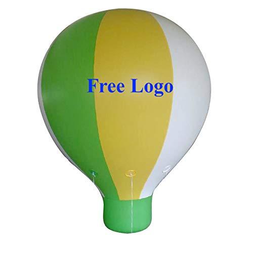 air-ads 13ft (4m) aufblasbar Heißluftballon Replica; Werbung Helium Ballon; kostenlose Logo