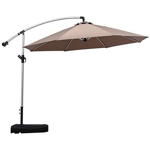 ROM Sombrilla Protección Solar al Aire Libre Paraguas de plátano Individual de pie al Aire Libre Al Aire Libre Playa Patio Ocio Paraguas al Aire Libre